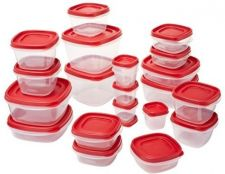 Buy Rubbermaid Easy Find Lids Food Storage Container, 42-piece Set, Red (1880801)