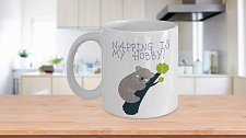 Buy Napping Is My Hobby Koala Bear Coffee Mug