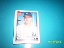 Buy 1991 Topps Traded rookie card jeff johnson yankees #62T mint free ship