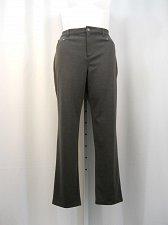 Buy Women Dress Pants Size 18 JM Collection Solid Gray Comfort Waistband Slim Legs