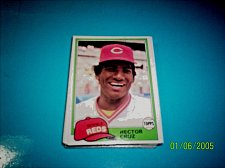 Buy 1981 Topps BASEBALL CARD OF HECTOR CRUZ #52 MINT FREE SHIPPING