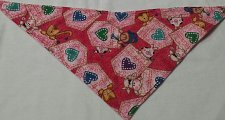 Buy bandana bib handmade metal snap closure whimsy farm animals print