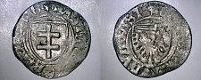 Buy 1449-1492 German States Prussia 1 Shilling World Silver Coin - Jagiellonian Rule