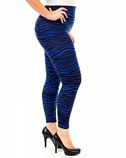 Buy Womens Leggings JUNIOR PLUS SIZE JIU YU Blue Animal Print One Size Fits Most