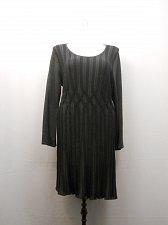 Buy Women Sweater Dress STYLE&CO PLUS SIZE 3X Black Grey Scoop Neck Long Sleeves