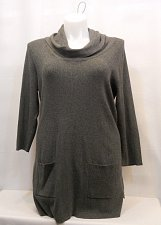 Buy PLUS SIZE 0X 1X Womens Cowl Neck Sweater INC International Concepts 3/4 Sleeves