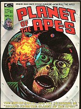 Buy Planet of the Apes #12 Marvel Comics MAGAZINE B&W 1975 great art Moench Sutton+