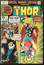 Buy SPECIAL MARVEL EDITION #1 THOR Marvel Comics 1971 Stan Lee Jack Kirby