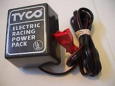 Buy Tyco 20volt dc ADAPTER CORD Electric Racing slotcar set track Power Pack supply