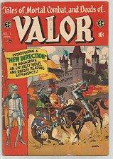Buy VALOR #1 EC COMICS 1955 Al Williamson/Torres, Wood, Kriegstein, Davis