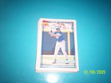 Buy 1991 Topps Traded joe carter blue jays #20T mint free ship