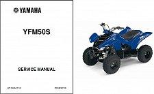 Buy 2004-2005-2006-2007-2008 Yamaha YFM50 Raptor 50 Service Manual on a CD