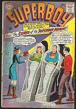 Buy SUPERBOY 123 DC Comics 1965 Silver Age VG range