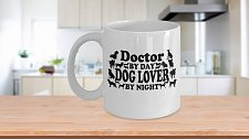 Buy Doctor By Day Dog Lover By Night Coffee Mug