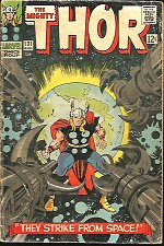 Buy THOR #131 Stan Lee & Jack Kirby Marvel Comics 1966