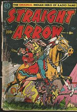 Buy STRAIGHT ARROW #14 ME Comics 1951 1st print and series MEAGHER + POWELL