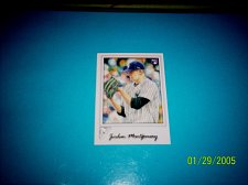 Buy 2017 TOPPS GALLERY ROOKIE CARD YANKEES JORDON MONTGOMERY #129