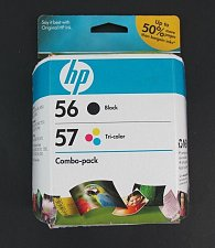 Buy 56 black COMBO 57 color ink jet HP PhotoSmart 7960 7760 7660 7550 7350 printer