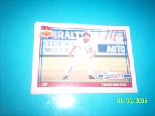 Buy 1991 Topps Traded todd greene team usa rookie #50T mint free ship