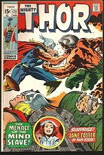 Buy THOR #172 SILVER AGE JACK KIRBY STAN LEE Marvel Comics 1970