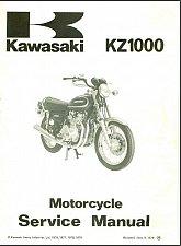 Buy 1978-1979-1980 Kawasaki KZ1000 ( Z1000 ) Service Manual on a CD --- KZ 1000