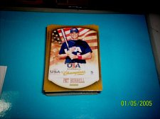 Buy PAT BURRELL #26 2013 Panini USA Champions Gold Boarder Card FREE SHIP