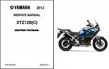 Buy 2012-2013 Yamaha Super Tenere 1200 ( XT1200Z ) Service Manual on a CD