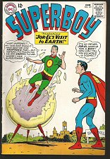 Buy SUPERBOY 121 DC Comics 1965 Silver Age Fine to VF- range or better