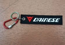 Buy 1 Embroidered Fabric Strap Dainese Keychain Keyring Key Holder Tag Motorcycle
