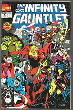 Buy Infinity Gauntlet #3 Marvel Comics 1st print 1991 NM- GUARDIANS OF THE GALAXY