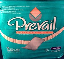 Buy Prevail XL 30 x 30 Disposable Underpads Bed Pads Super Absorbent