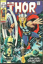 Buy THOR #160 Stan Lee & Jack Kirby Marvel Comics 1969 1st Print & series