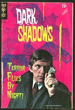 Buy DARK SHADOW #7 Gold Key Comics 1970 1st series and printing GREAT photo COVER TV