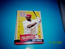 Buy 2013 Hometown Heroes States #15 ryan howard philadelphia mint