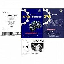 Buy MV Agusta F4 Service & Parts Manual on a CD