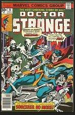 """Buy Dr. Strange #19 Alcala Wolfman Marvel Comics 1976 Fine/+ range """"Sorcerer No More"""