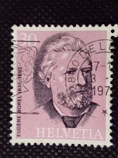 Buy Switzerland 1V USED STAMP Eugene Borel 1835-92 1st director of the UPU
