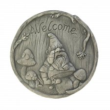"Buy *17997U - Welcome Gnome 10"" Garden Stepping Stone Yard Art"