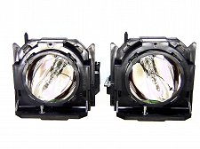 Buy PANASONIC ET-LAD57W ETLAD57W 2 FACTORY ORIGINAL BULBS IN HOUSINGS FOR PT-DW5100U