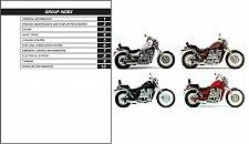Buy 1986-2009 Suzuki Intruder 700 750 800 ( VS700 VS750 VS800 ) Service Manual CD