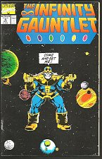 Buy Infinity Gauntlet #4 GUARDIANS OF THE GALAXY 1st print 1991 VF or better