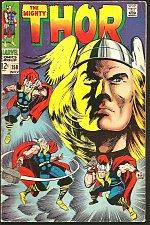Buy THOR #158 JACK KIRBY STAN LEE Marvel Comics 1968 Colletta Fine ORIGIN Dr. Blake