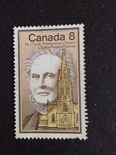 Buy Canada postage stamp Used 8¢ Dr. J. Cook, Presbyterian Church 1975