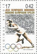 Buy Belgique 1999 Belgie 1v Stamp Jessy OwensJourney through the 20th century