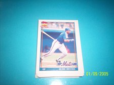 Buy 1991 Topps Traded hubie brooks mets #14T mint free ship