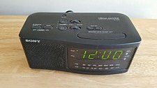 Buy Sony Black Dream Machine FM/AM Dual Alarm Clock Radio ICF-C740
