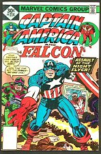 Buy CAPTAIN AMERICA #214 & Falcon Marvel Comics1st Print Fine- range JACK KIRBY '77