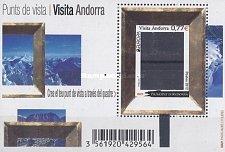 Buy Andorra (F) 2012 MNH Min Sheet EUROPA Tourism (Tourism promotion)