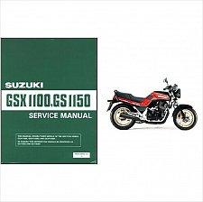 Buy 1984-1985-1986 Suzuki GSX1100E / GS1150E Service Manual on a CD
