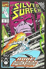 Buy Silver Surfer 51 INFINITY GAUNTLET crossover GUARDIANS OF THE GALAXY Galactus NM